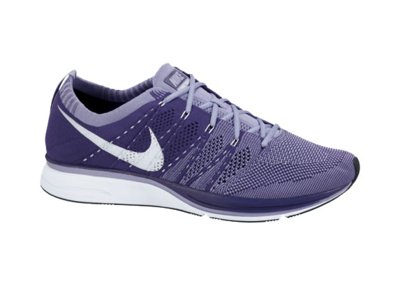 Flyknit  Court Purple Medium Violet-White