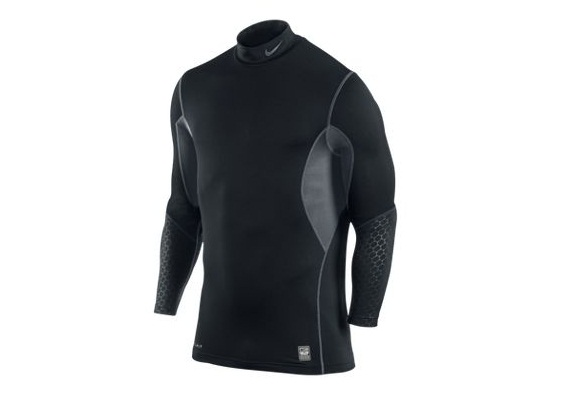 nike combat hyperwarm shield mock