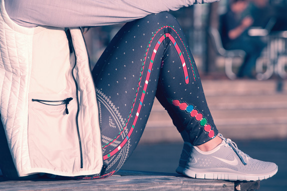 Nike Pro Oslo Glow Printed Tight